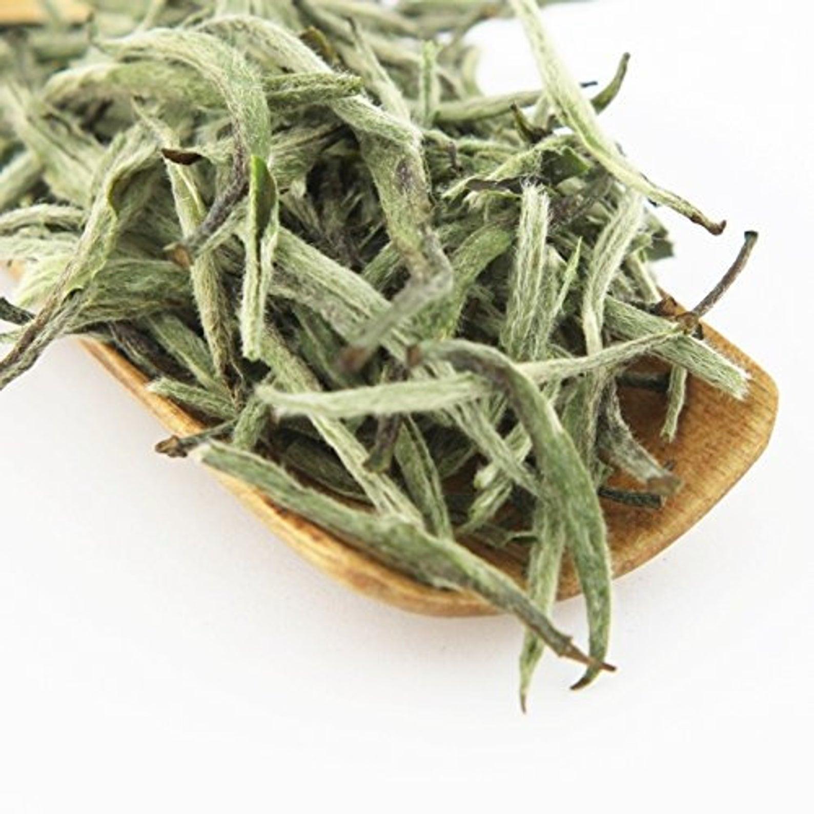 """WHITE TEA – BAI HAO YIN ZHEN """"Silver Needle"""" Organic"""